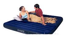 Двоспальний надувний матрац INTEX з двома подушками