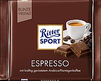 Шоколад Ritter Sport Espresso (Риттер Спорт кофе эспрессо), 100 г, фото 1