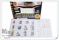 Головоломки металлические набор 12 шт, развивающая игра, фото 1