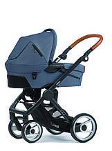 Классическая коляска «Mutsy» EVO Industrial, цвет Grey / Black Cognac (EVO16UNINB-COTEVOINGREY)