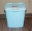 """Контейнер для порошка""""Ажур"""" Elif Plastik 383, цвет мяты, фото 3"""
