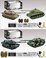 Танковый бой радиоуправляемый
