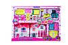 Игровой домик для кукол с мебелью и фигурками в коробке 53*6*37
