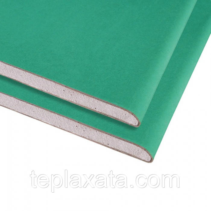 KNAUF ГКЛ потолочный влагостойкий 9,5 мм (2,0 м)