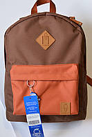 Рюкзак Bagland аналог Nike найк коричневый оранжевый