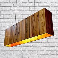 Изготовление светильников из дерева