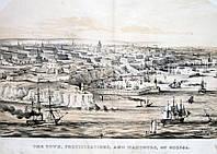 Одесса. Цветная литография, середина XIX век