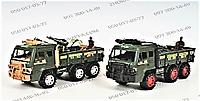 Военная машина 2105FG, инерционная, 24 см, с аксессуарами, 2 вида, в кульке, пополнение и разнообразие гаража