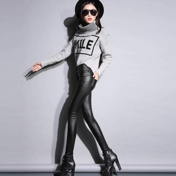 Кожаные штаны. Модель 2095