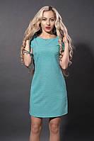 Модное платье на короткий рукав с карманами.Разные цвета., фото 1