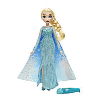 Кукла Эльза Волшебное платье Холодное сердце (Disney Frozen Elsa's Magical Story Cape Doll)