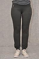 Женские спортивные трикотажные брюки норма на манжете