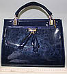 Сумка стильная Женская лакированная 17-0616-4, фото 5