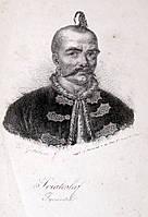 Князь Святослав Игоревич. Гравюра. XIX век