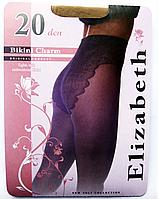 Колготки Elizabeth 20 den Bikini Charm nero (черные)