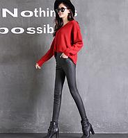 Кожаные штаны. Модель 2097, фото 3