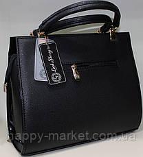 Сумка стильная Женская лакированная 17-0616-4, фото 3