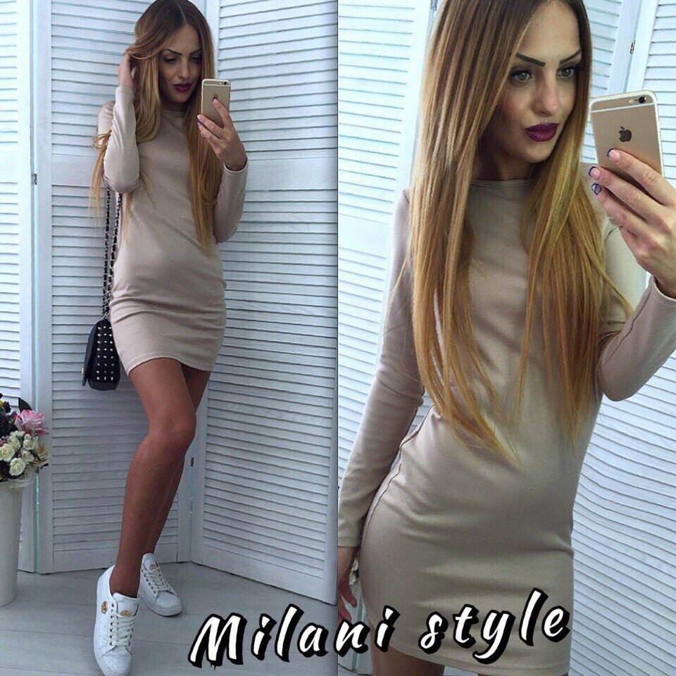 e1456c9d992 Стильненькое мини платье по фигуре. Расцветки МС-001.064 - Интернет-магазин