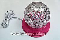 Лазер диско светильник W-118 (цветомузыка)