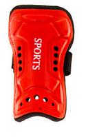 Щитки футбольные KID-TEEN 14 (красный)