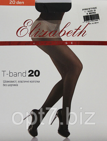 Колготки ELIZABETH Prestige 20 den tb nero (черные), фото 2
