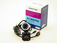 WEB камера Greentree GT-V16 Black / 0.3Mp / USB2.0 / 640x480 / Микрофон