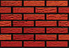 Кирпич клинкерный Керамейя Клинкерам  250x60x65 мм Рустика Рубин 3 Пр 1/2 28% без посыпки