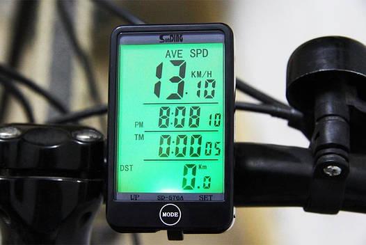 Велосипедный сенсорный компьютер (велокомпьютер) SunDING SD-576A