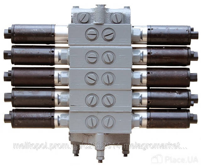 Гидрораспределитель 5РЭ50-44Б (5 секций) Дон-1500