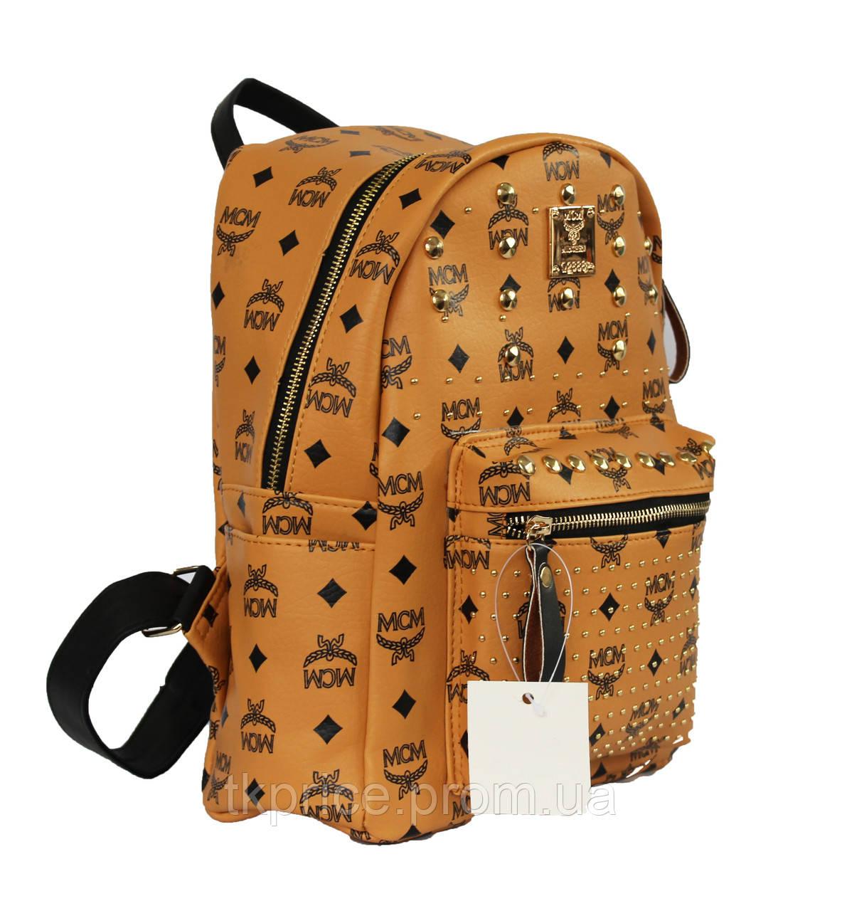 Рюкзак из кожзаменителя