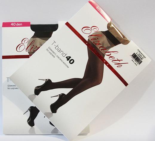 Колготки ELIZABETH Prestige 40den tb visone (бежевые), фото 2