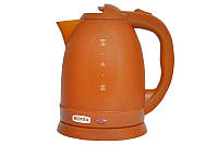 Электрочайник ROTEX 18B: пластик, шкала уровня воды, автоматическое отключение, 1500 Вт, 1,8 л