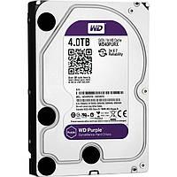 """Жесткий диск 3.5"""" 4Tb Western Digital Purple, SATA3, 64Mb, IntelliPower (WD40PURX) для систем наблюдения с уникальной технологией AllFrame"""