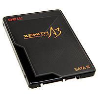"""Твердотельный накопитель 120Gb, Geil Zenith A3, SATA3, 2.5"""", TLC, 540/145 MB/s (GZ25A3-120G)"""