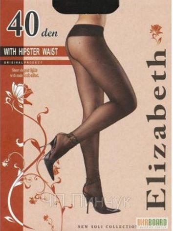 Колготки Elizabeth 40 den With Hipster Waist nero (черные), фото 2