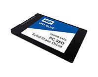 """Твердотельный накопитель 250Gb, Western Digital Blue, SATA3, 2.5"""", TLC, 540/500 MB/s (WDS250G1B0A)"""