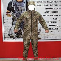 Демисезонный костюм Camo-tec Укр. пиксель (на флисе), фото 1