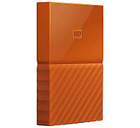"Внешний жесткий диск 1Tb Western Digital My Passport, Orange, 2.5"", USB 3.0 (WDBYNN0010BOR-WESN)"