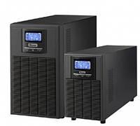 ИБП Mustek PowerAgent 3024 Online / 2400Вт, чистая синусоида, двойное преобразование, 6 розеток (IEC), USB-порт, LCD-панель