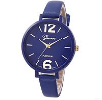 Часы женские на руку Geneva (Blue)