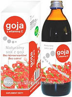 Сок из Ягод Годжи без сахара - ускоряет метаболизм, антиоксидант