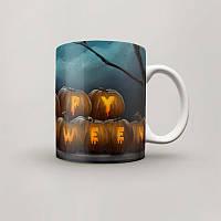 Чашка, Кружка Happy Halloween, №1, Хэллоуин