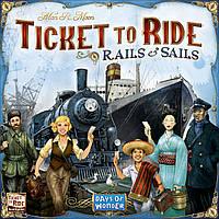 Настольная игра Ticket to Ride: Rails & Sails (Билет на поезд: Рельсы и паруса)