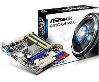 Мат.плата 775 (G41) AsRock G41C-GS R2.0, G41/ICH7, 2xDDR3/2xDDR2, Int.Video Intel X4500, 4xSATA2, IDE, FDD, 1PCI-E 16x, 1xPCI-E 1x, 2xPCI, ALC662,