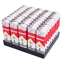 Зажигалка пьезо бренды сигарет BL604-1