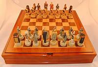 Настольная игра, шахматы, знаменитые битвы 10 видов, безумно красиво