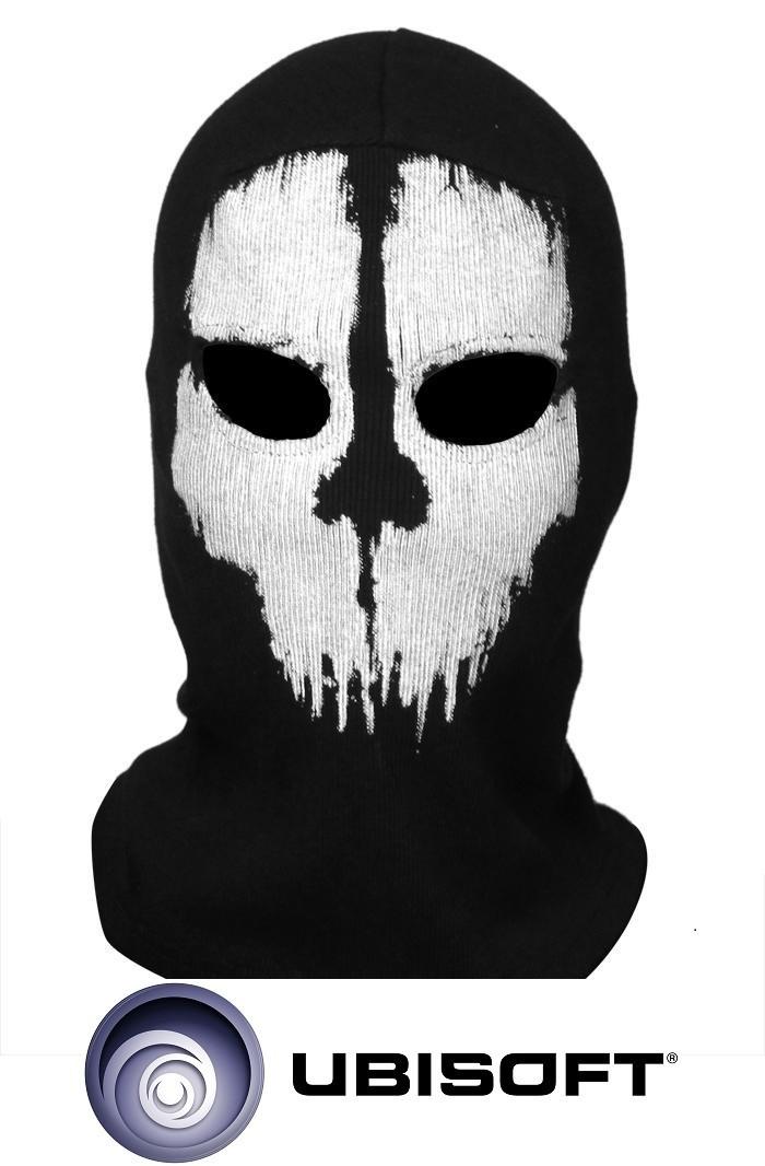 """Тактическая военная маска-балаклава призрак Call of Duty """"Ghosts"""" #05"""