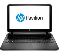 "Ноутбук 15"" HP Pavilion 15-ab002ur Silver (M3Z67EA) 15.6"" глянцевый LED HD (1366x768) / Intel Core i3-5010U 2.1GHz / DDR3 4Gb / HDD 500Gb / Intel HD"
