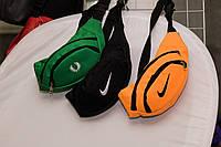 Поясна сумка Nike, найк черная бананка