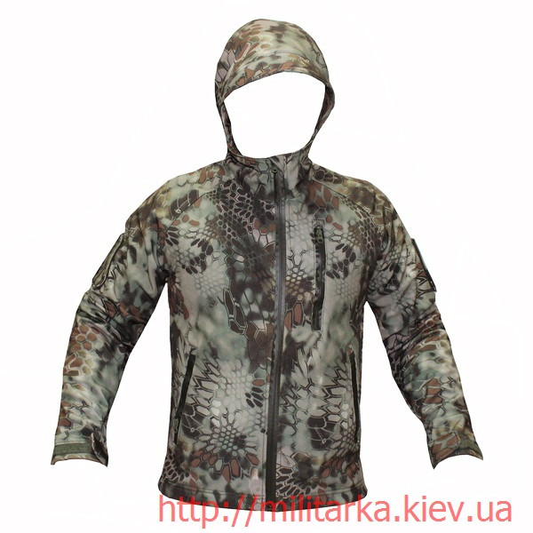 Куртка Softshell Camo-tec Криптек кочевник